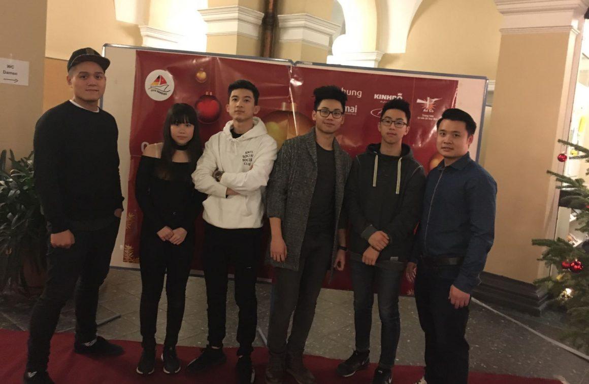 vietnamesische Studenten Weihnachtsfeier 2016 in Hamburg