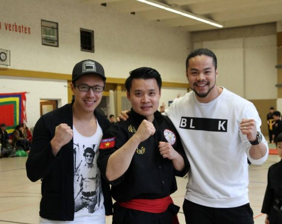 Nam Hong Son Berlin trifft Cha Lee Yoon und Phong Giang